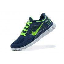 pretty nice 0d98b 53aeb ... 5.0 running shoes in navy blue green ORYTVTK Nike Free Run + 3 Men s  Navy Blue Lime Green ZuGa5 ...