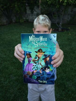 Win copy of a Halloween book for your kids from Burbankmom - copy children's abc coloring pages