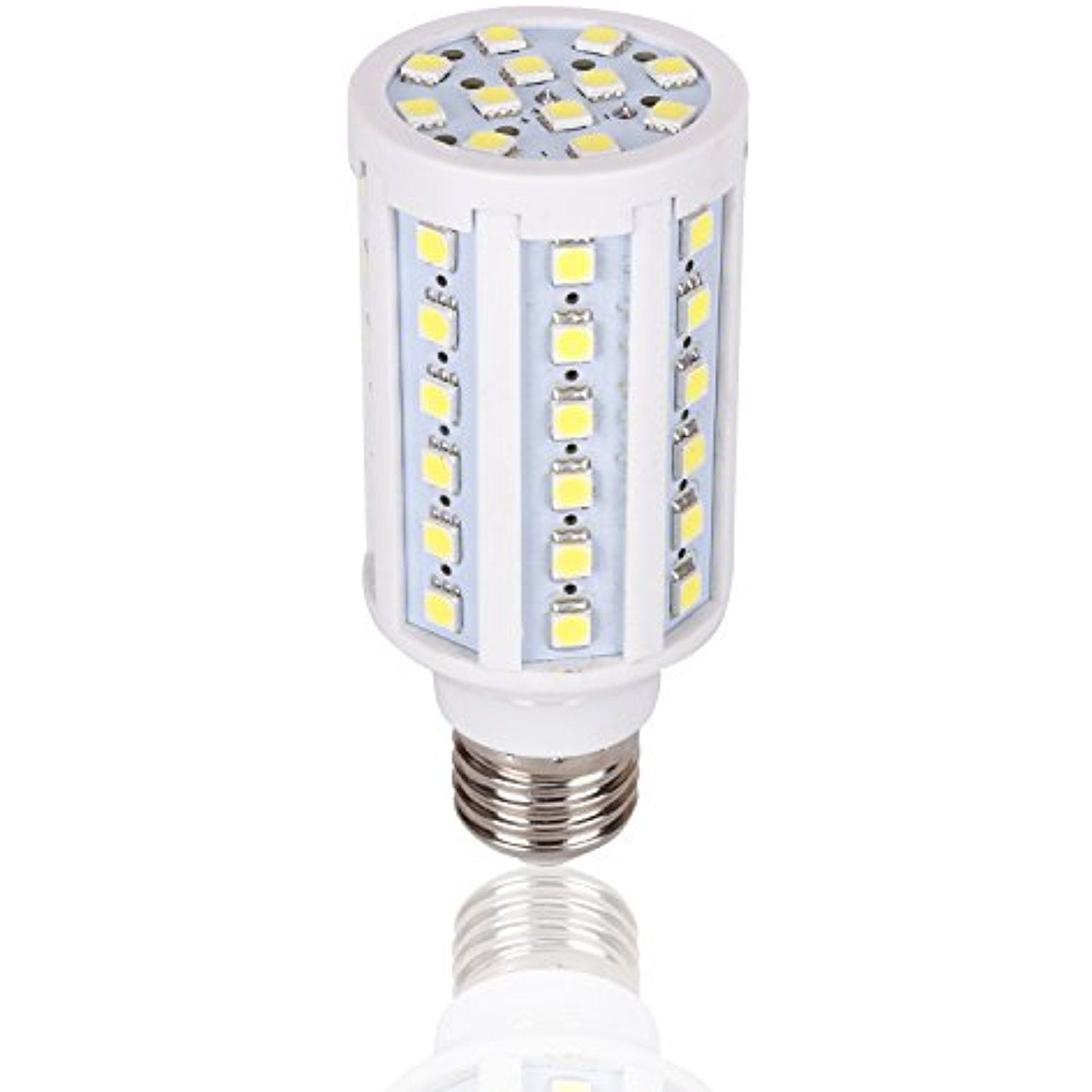 Medium Base 12 Volt Led Light Bulb Dc 12v 20v 6000k Bright White