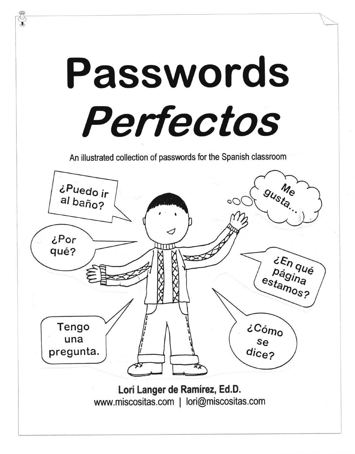 MisCositas.com resource: Passwords perfectos (SPANISH