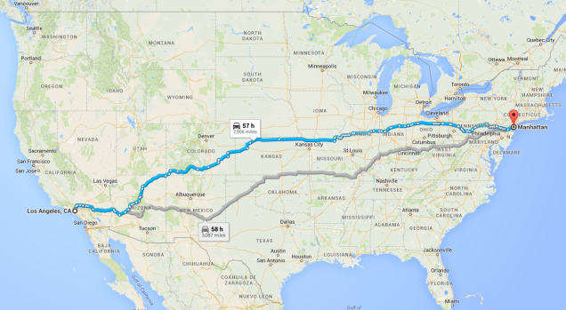 The Ten Best Routes For Driving Across America
