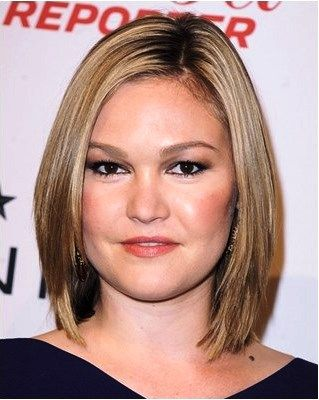 Hairstyles For Overweight Women With Double Chin Round Face Haircuts Medium Hair Styles Light Blonde Highlights