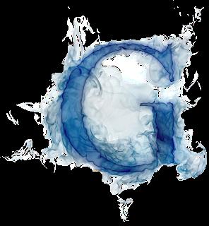 Misterioso Alfabeto Azul Oh My Alfabetos Letras De Fuego Fotos De Letras Letras Acuarela