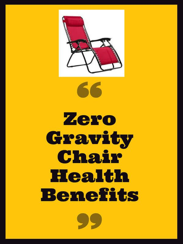 zero gravity chair is not just a regular chair,it also has ...