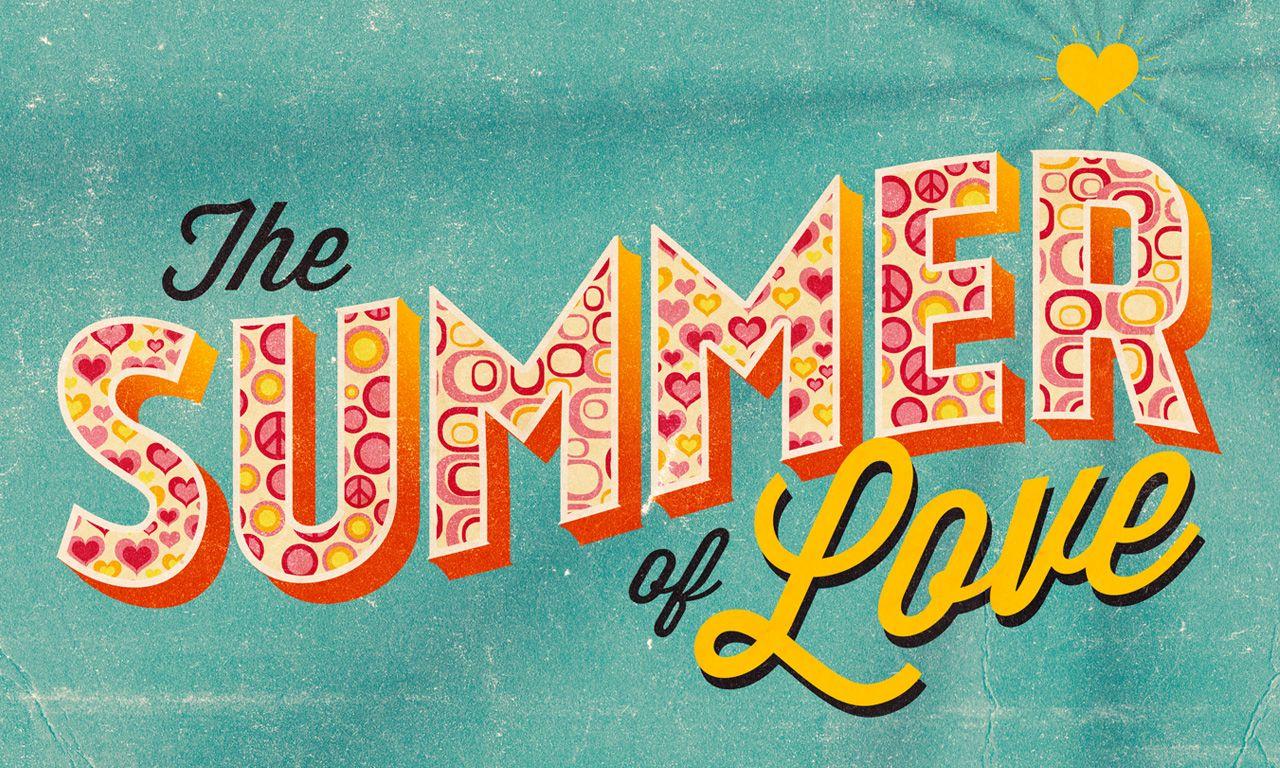 The Summer of Love | sermon series design by Tony Serge | Church