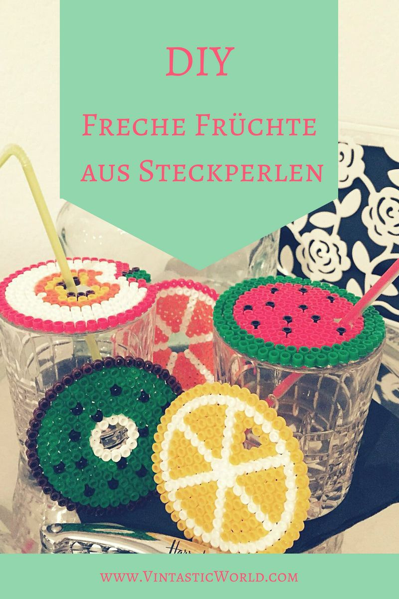 Photo of Bügelperlen Ideen – Freche Früchte: Deko selber machen mit Steckperlen