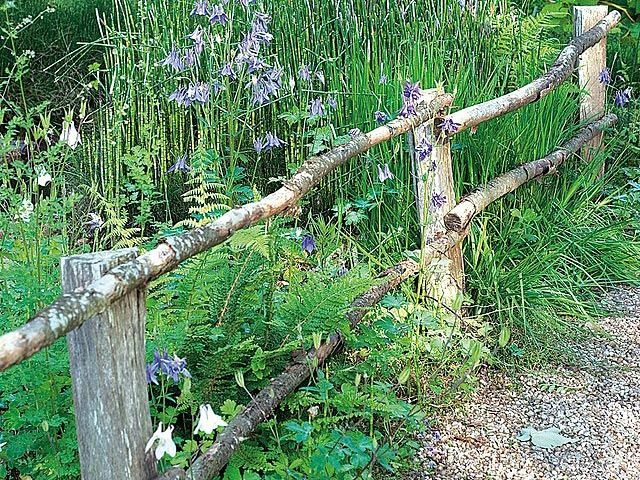 installer des barri res champ tres diy gardens yards fences pinterest garden. Black Bedroom Furniture Sets. Home Design Ideas