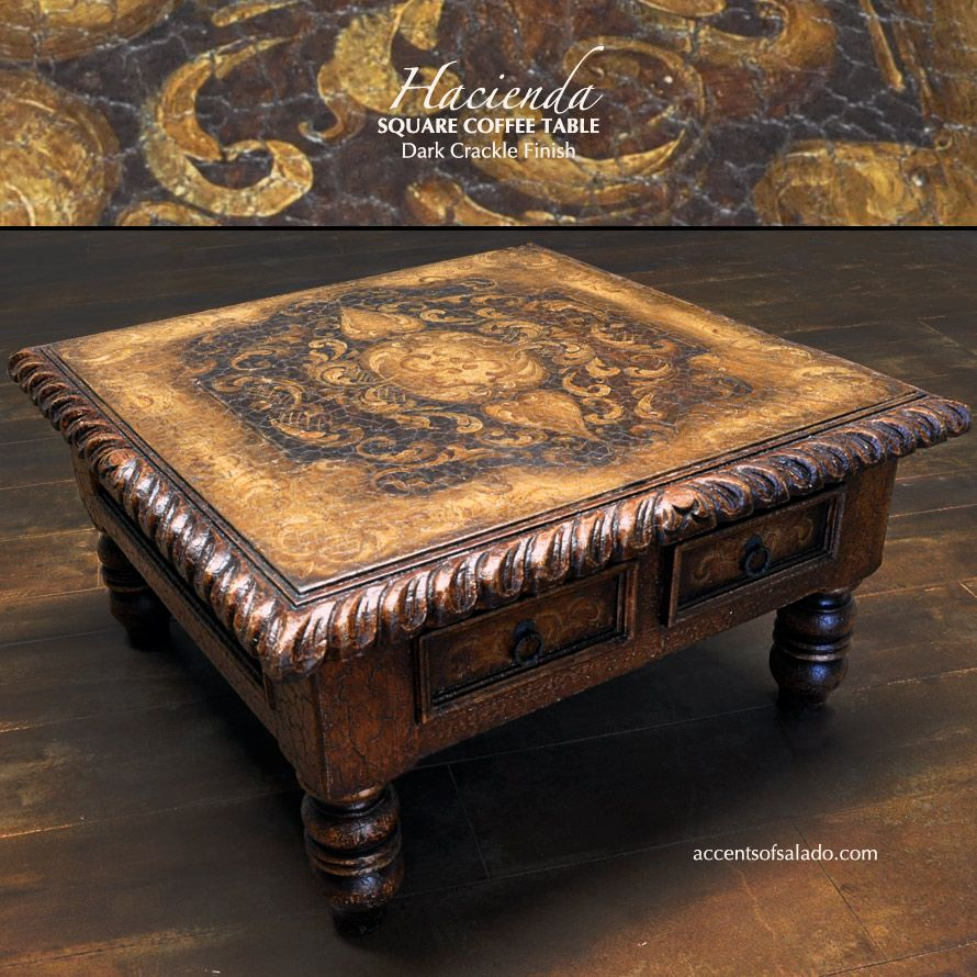Old world hand painted coffee table hacienda one of our best old world hand painted coffee table hacienda one of our best sellers geotapseo Gallery