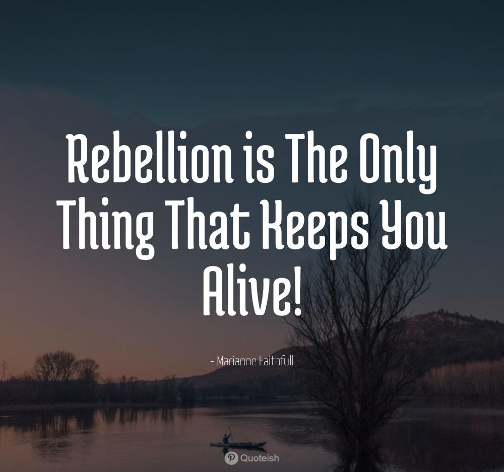 33 Rebellion Quotes