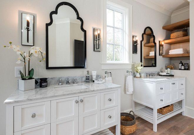 Bathroom Vanity Bathroom Vanity We chose to install two separate