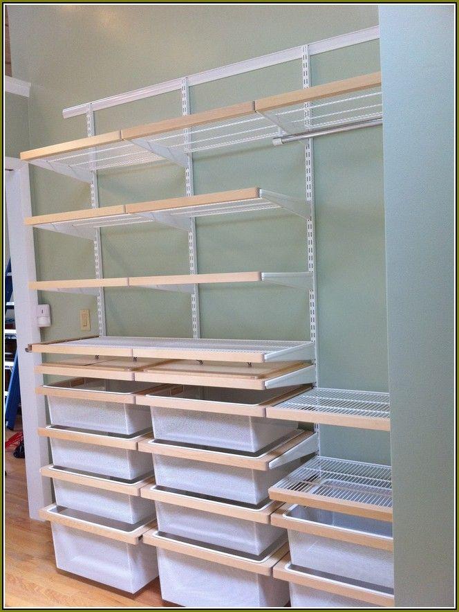 Ordinaire Elfa Closet System Installation 664×884 Pixels