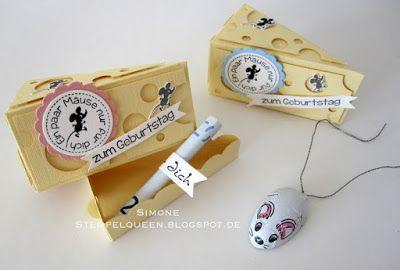 Stempel, Karten und mehr: **...ein paar Mäuse für Dich...**