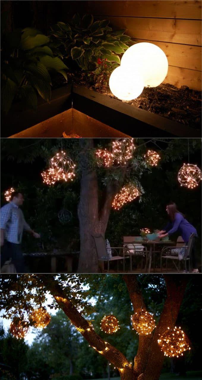 DIY-outdoor-lights-apieceofrainbowblog (11B) & 28 Stunning DIY Outdoor Lighting Ideas ( u0026 So Easy | Pinterest ...