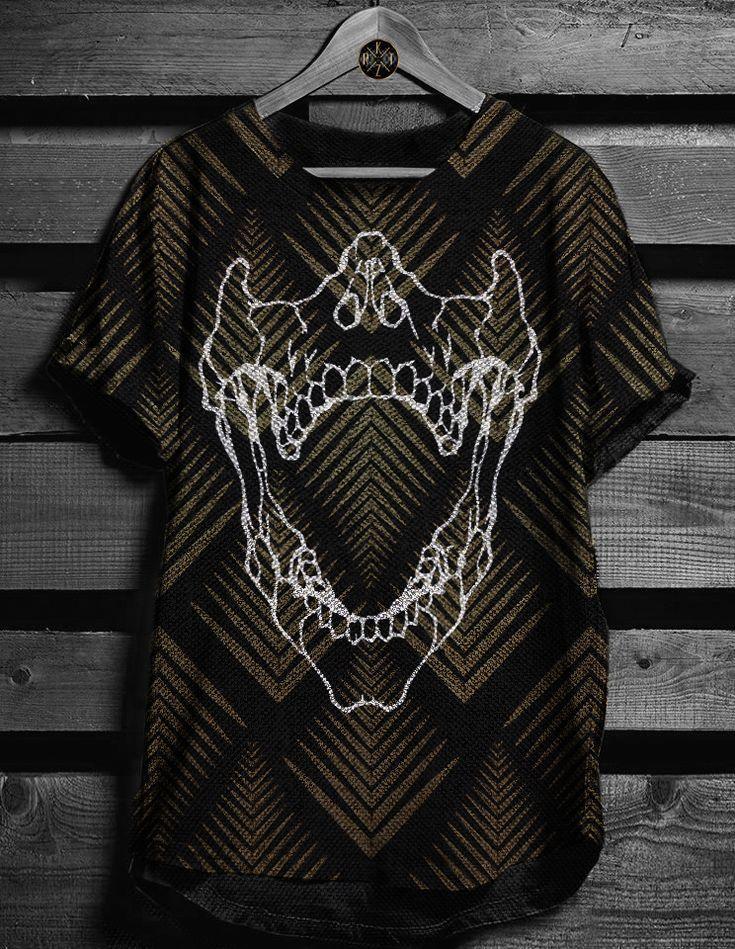 Skull Scream Premium Karattz tshirt thumbnail