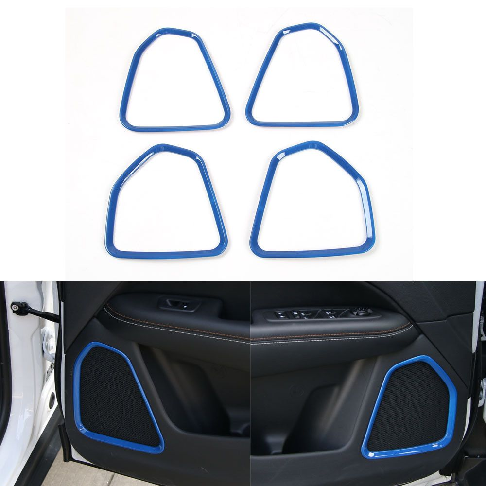 Free Shipping] Buy Best BBQ@FUKA 4x Blue ABS Inner Car