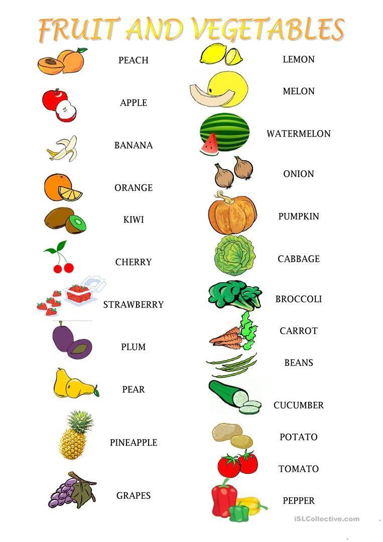 Vegetables Worksheets For Kindergarten English Esl Fruit And Ve Ables Worksheets Most Kindergarten Worksheets Kindergarten Worksheets Printable Worksheets [ 1079 x 763 Pixel ]