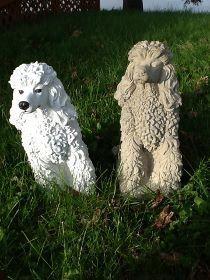 Concrete Dog Statues | Unique Lawn Garden Statues