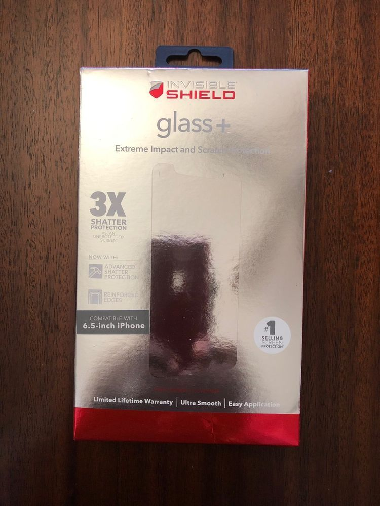 detailed look 1b214 9cab6 NEW ZAGG InvisibleShield HD Glass+ Screen Protector for Apple iPhone ...