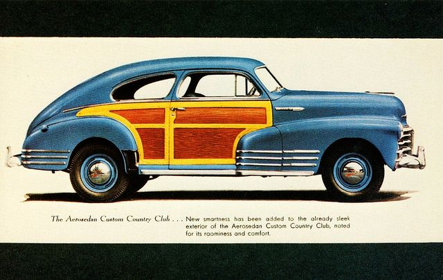 Chevrolet Aerosedan Custom Country Club Chevrolet Did Not - Chevrolet dealers detroit