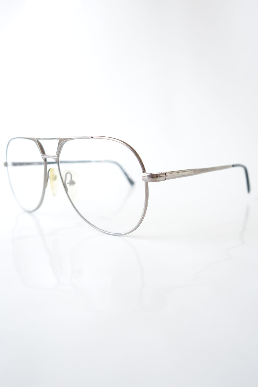 Mens Silver Aviator Retro Glasses 1980s Overisized Rounded Etsy In 2020 Retro Glasses Silver Aviators Silver Man
