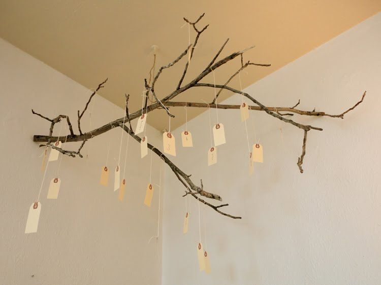 Hang Gratitude Branch In Your Home As A Holiday Or Everyday Art  Installation. Add Tags. Thanksgiving DecorationsThanksgiving IdeasChristmas  IdeasTree ...