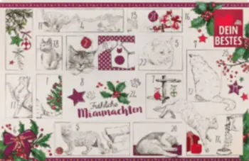 Dm Dein Bestes Adventskalender Katze 2020 Adventkalender Dm Adventskalender Adventskalender
