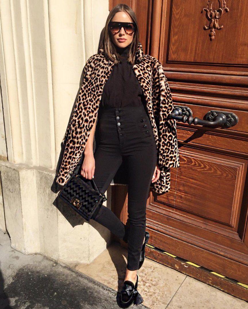 Natasha Sky High Super Skinny in Seriously Black