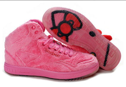 5804d0b229d705 Reebok PT-20 INT Hello Kitty Pink Plush Kitty Morning Glory On Sale ...
