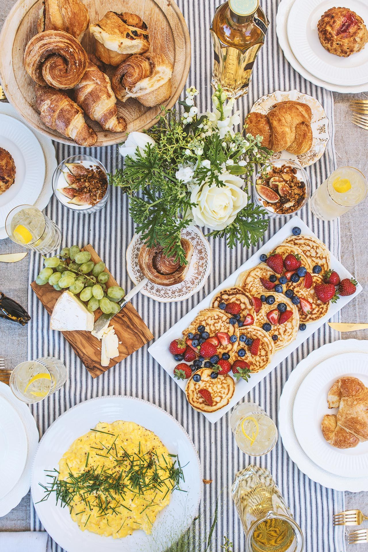 Vive The Daylife Brunch Brunch Table Breakfast Table Setting