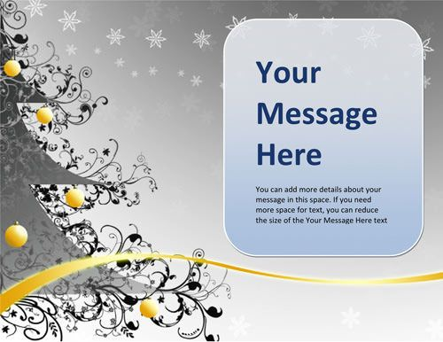 Free Christmas Flyer And Card Templates Download Free