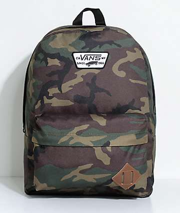5e5754c98d Vans Old Skool II Classic Camo 22L Backpack | women bag 2018 in 2019 ...