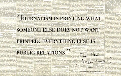 What is Journalism? #publicrelationsquotes Public relations