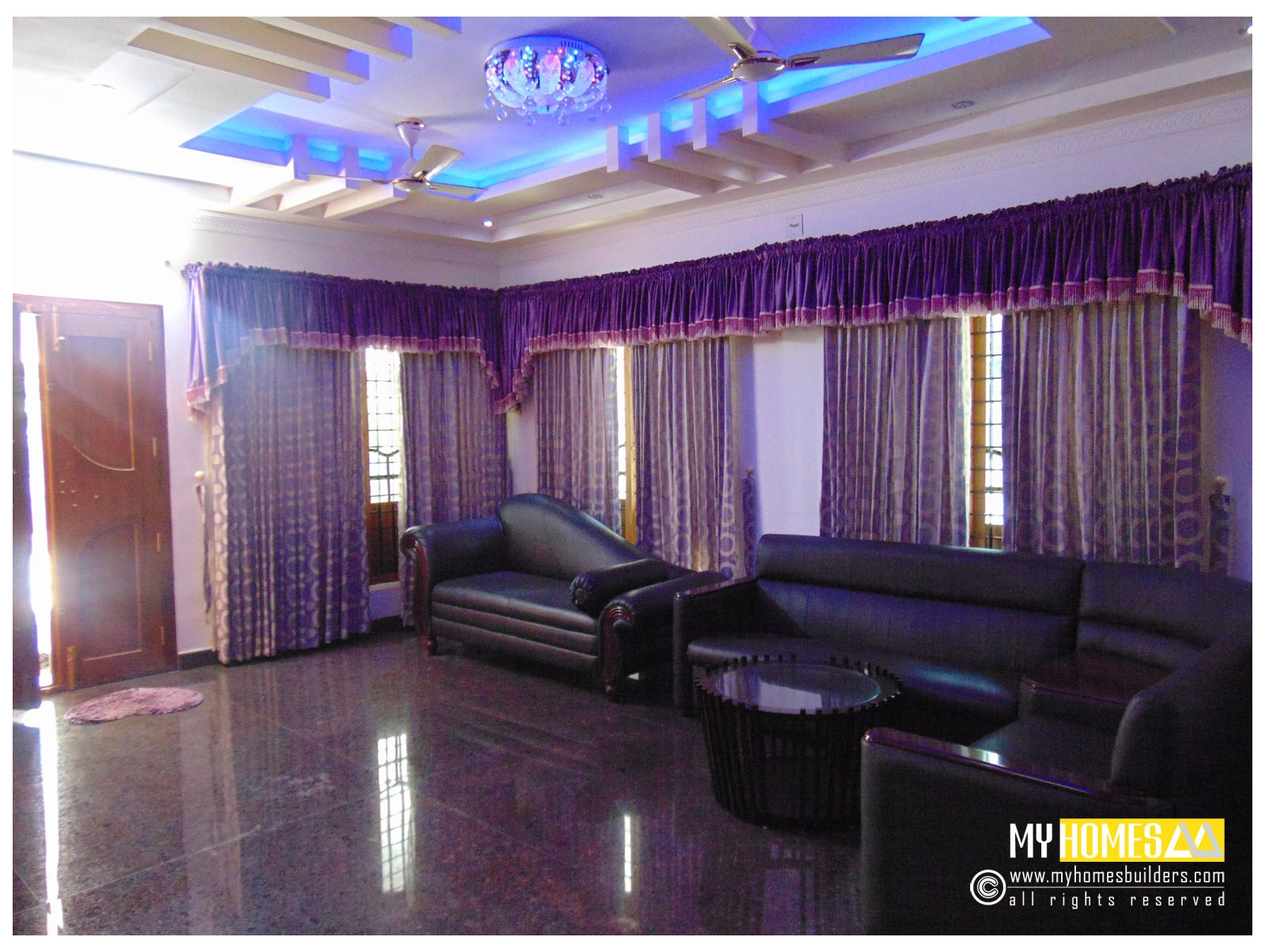 Living Room Interior Designs In Kerala Best Designed For One Of The My Homes Client From Thrissur