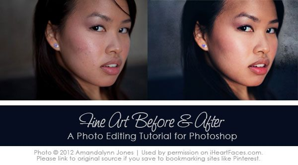 Tips on creating a fine art edit in #Photoshop. A before and after how to edit tutorial.