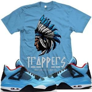 1e2d85a109e8aa MDM T-Shirt Jordan 4 Cactus Jack Sneaker Tees Shirt - TRAPPERS   menst-shirtscasual