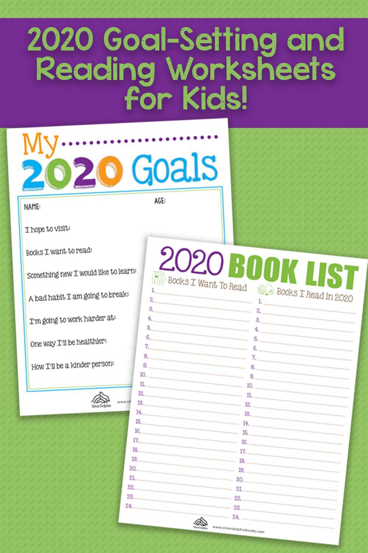 2020 Goal Setting Reading Worksheets Reading Worksheets Worksheets For Kids Lettering Tutorial [ 1500 x 1000 Pixel ]