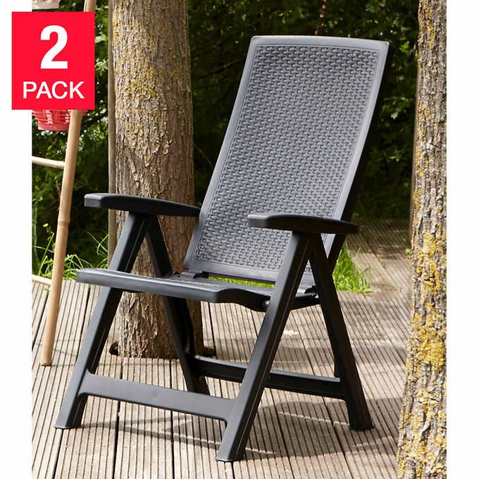 Allibert Montreal Chair 2 Pack