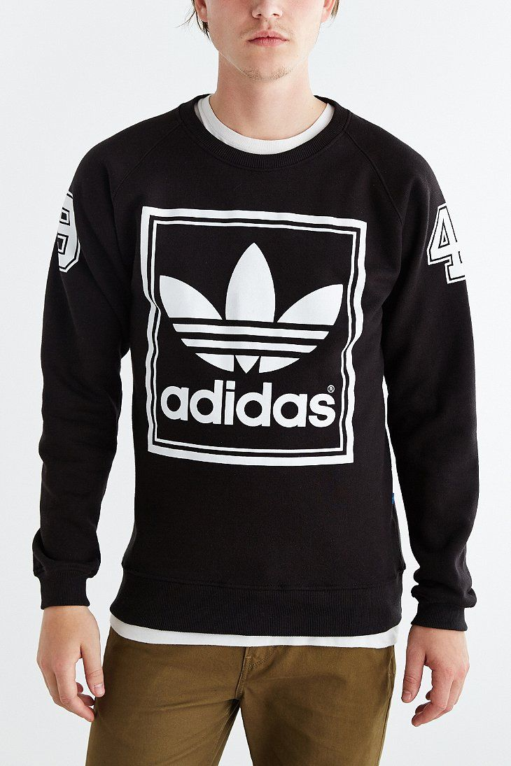 Urban Outfitters Sport Outfit Men Crew Neck Sweatshirt Mens Outfits [ 1095 x 730 Pixel ]