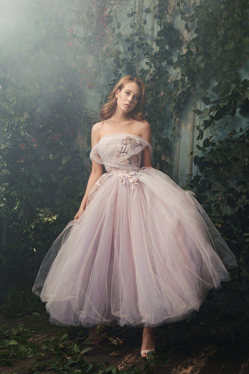 Wedding Gown Alice In Wonderland Short Wedding Dress In 2020 Ethereal Dress Fairy Wedding Dress Gowns