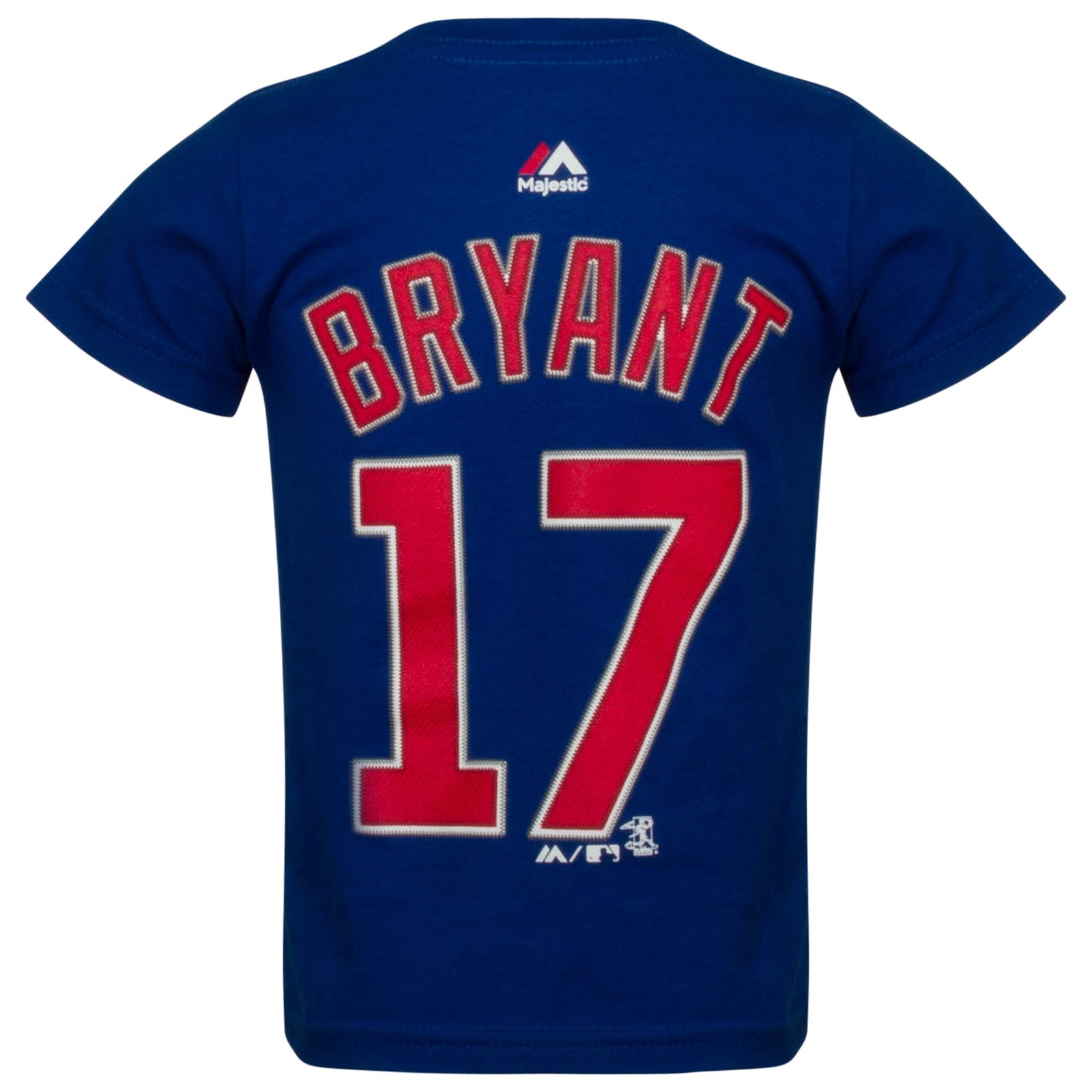 best loved b0d62 e3914 Chicago Cubs Toddler Kris Bryant Player Tee by Majestic ...