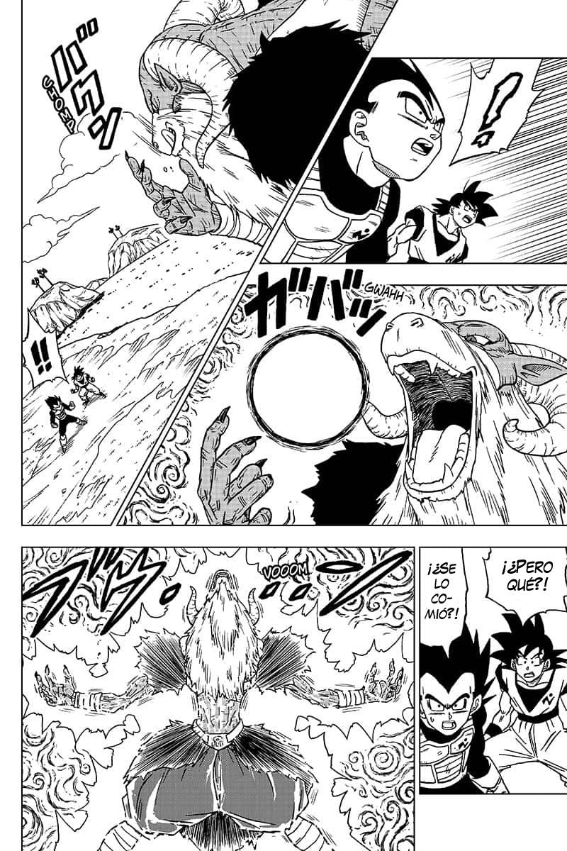 Pagina 38 Manga 45 Dragon Ball Super Dragon Ball Super Manga Dragon Ball Super Dragon Ball