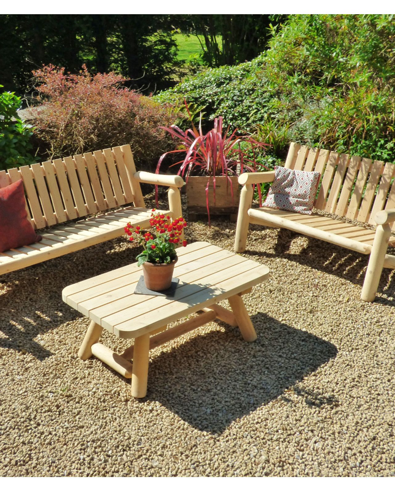 Salons De Jardin En Bois Que Choisir Jardins En Bois Mobilier Jardin Salon En Bois