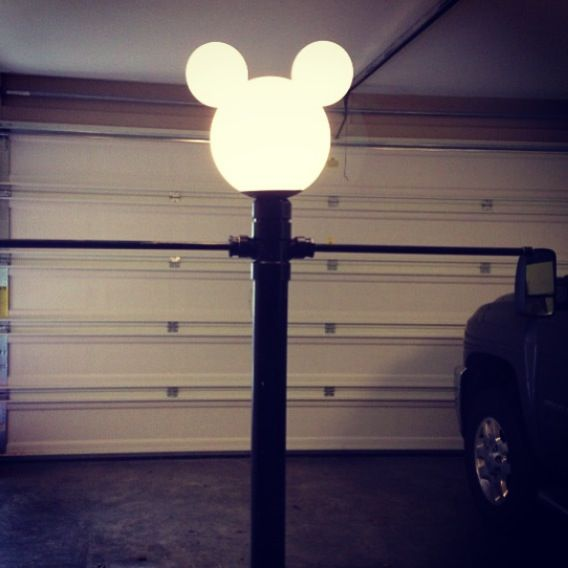 Disney lamp post. Easy to make! | For the Home-Disney Home ...
