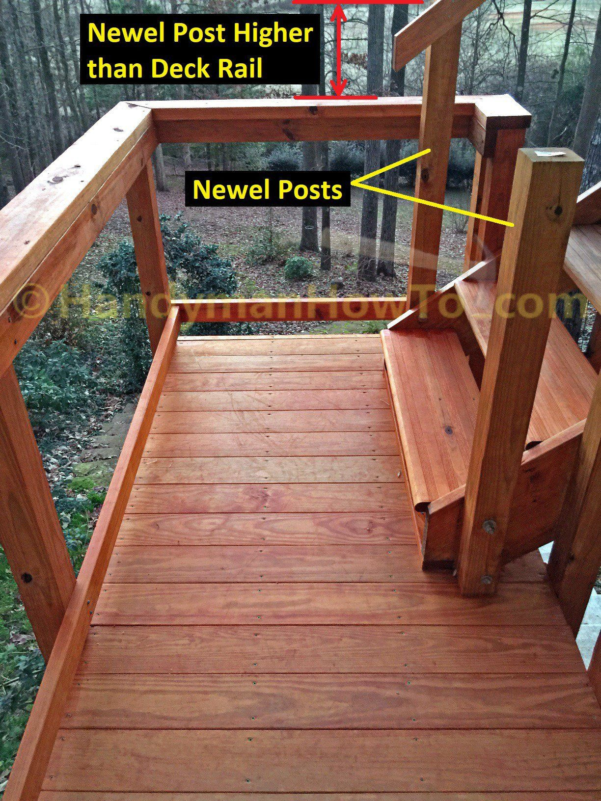 How To Build Code Compliant Deck Railing Building A
