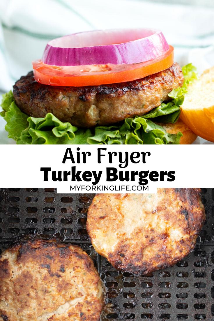 Air Fryer Turkey Burgers in 2020 Air fryer dinner