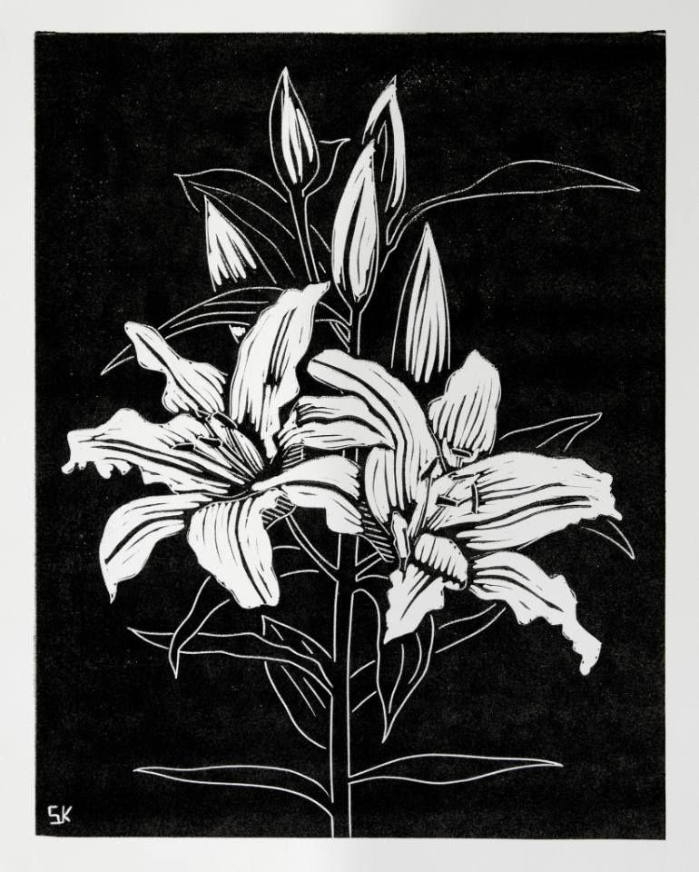 Lily Lino Print