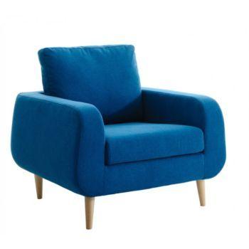 fauteuil bleu canard Decoration Pinterest