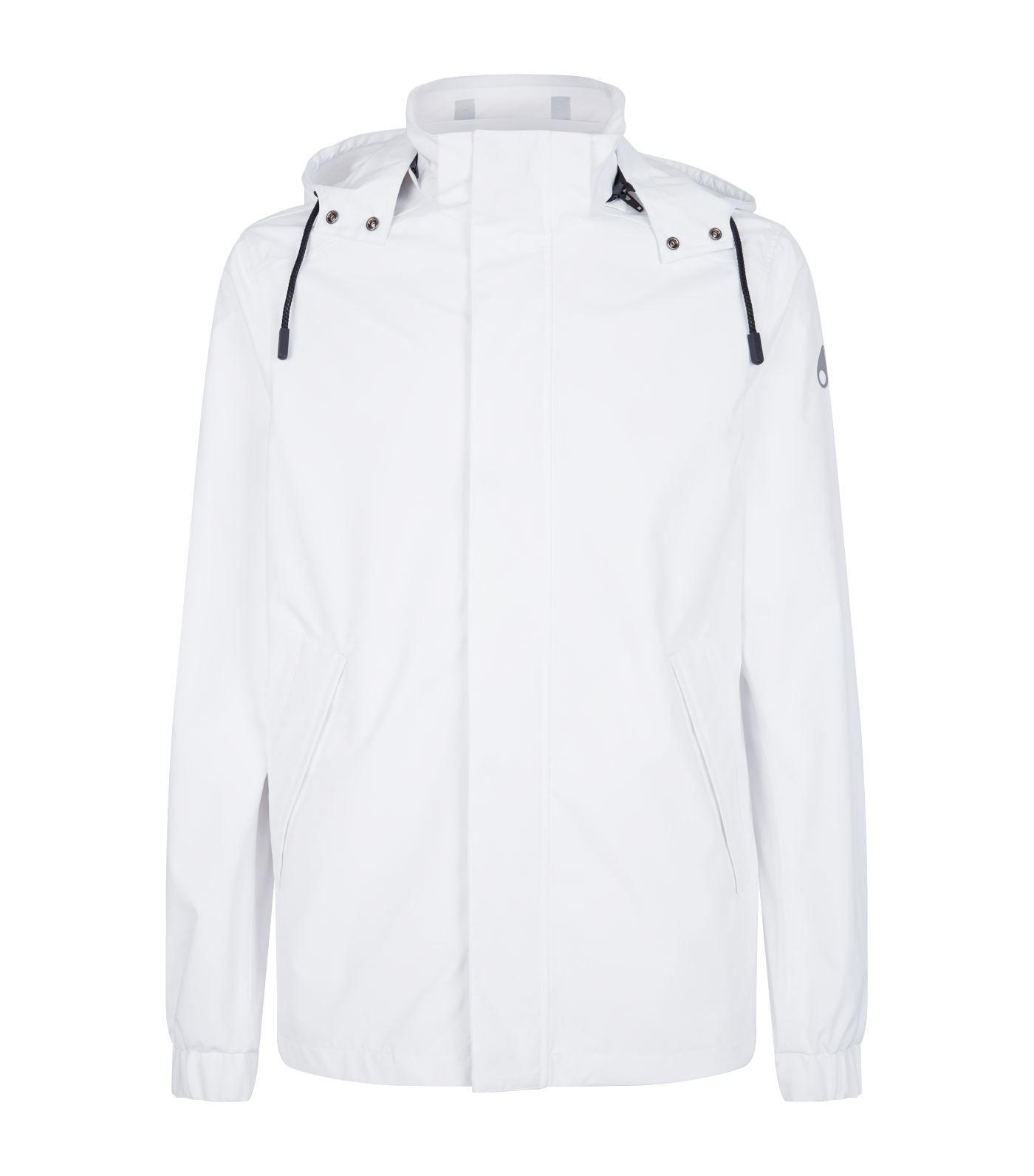 Moose Knuckles Hooded Jacket In White Modesens Hooded Jacket Jackets Hooded Jacket White [ 1592 x 1400 Pixel ]