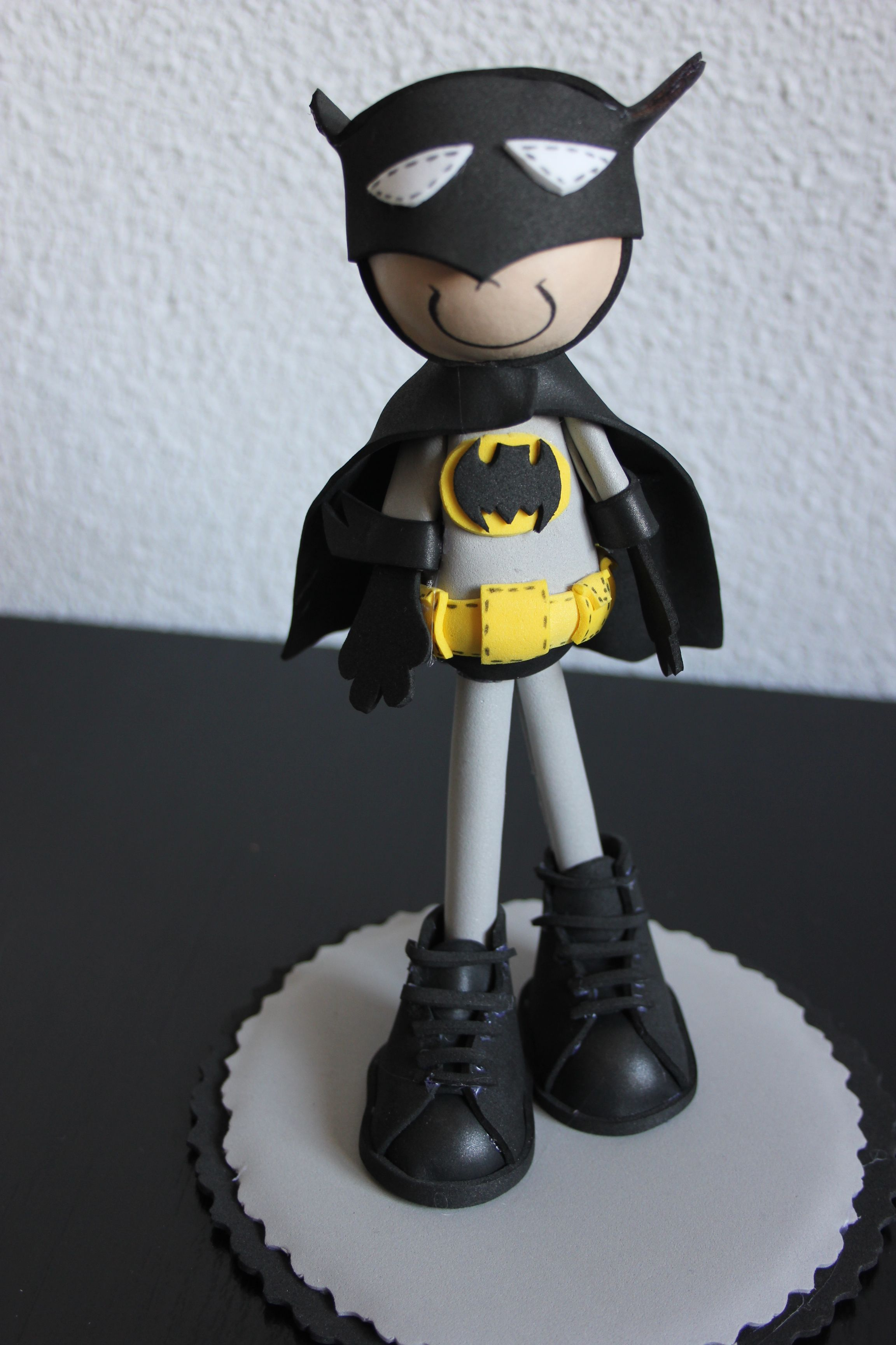 Súper Héroe, Batman. El Taller del Minino.