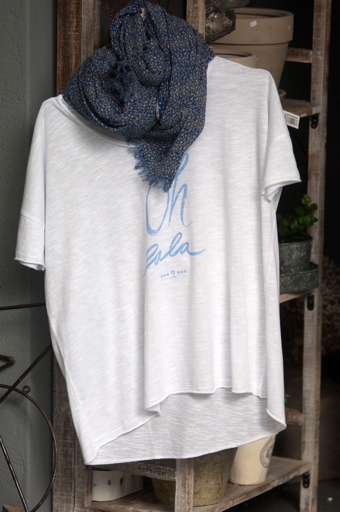 #Camiseta y fular con flores en #nelybelula